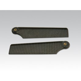 CARBON TAIL BLADES FOR RAPTOR 30/50