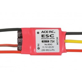 Blc-75c brushless electric speed control esc