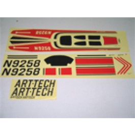 DECALS BAG SET FOR CESSNA 182