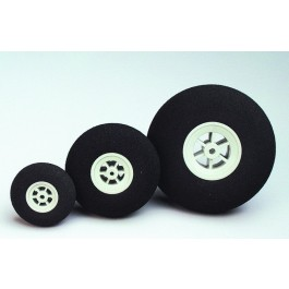 Super-light foam wheels, 55 mm