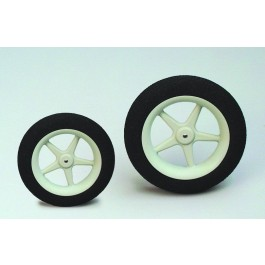 Super-light foam wheels, 63 mm