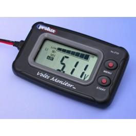 Battery voltmeter Nimh - li.po.