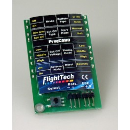 PROGRAM CARD FOR FLIGHTTECH ES