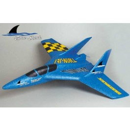 Twin Jet-Blue Shark