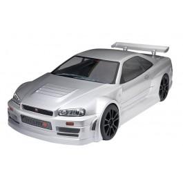 Tomahawk vx Nissan skyline silver color