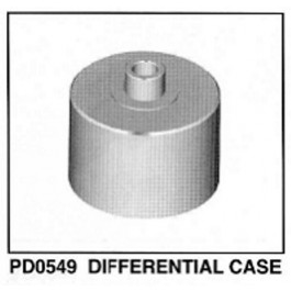 DIFFERENTIAL CASE FOR EB4 S2 BUGGY