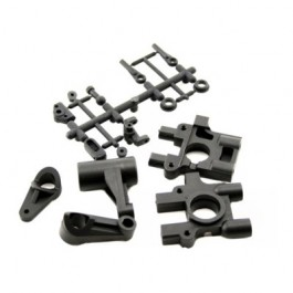 CENTER DIFFERENTIAL MOUNT & SERVO SAVER FOR EB4 S2 BUGGY