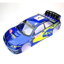 PAINTED BODY IMPREZA 190mm FOR SPARROWHAWK DX