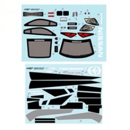 DECALS NISSAN 350Z FOR SPARROWHAWK DX