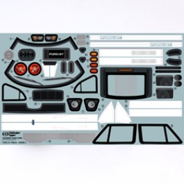 FORD GT BODY DECALS FOR TOMAHAWK