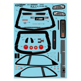 DECAL SET Z TUNE FOR TOMAHAWK MX VX