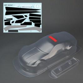 CLEAR BODY 350Z W/DECAL FOR TOMAHAWK MX VX
