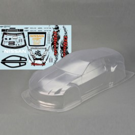 CLEAR BODY NISSAN 350Z 190mm FOR SPARROWHAWK DX
