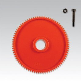 tail drive spur gear set for raptor 60