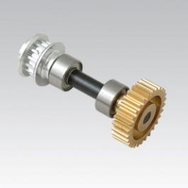 Metal tail drive pinion mini titan e-325
