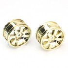 8 SPOKE WHEEL 26mm GOLD FOR SPARROWHAWK DX