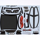 DECALS BODY M6 FOR SPARROWHAWK DX