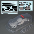 CLEAR BODY NISSAN 350Z WITH DECALS PR FOR SPARROHAWK VX